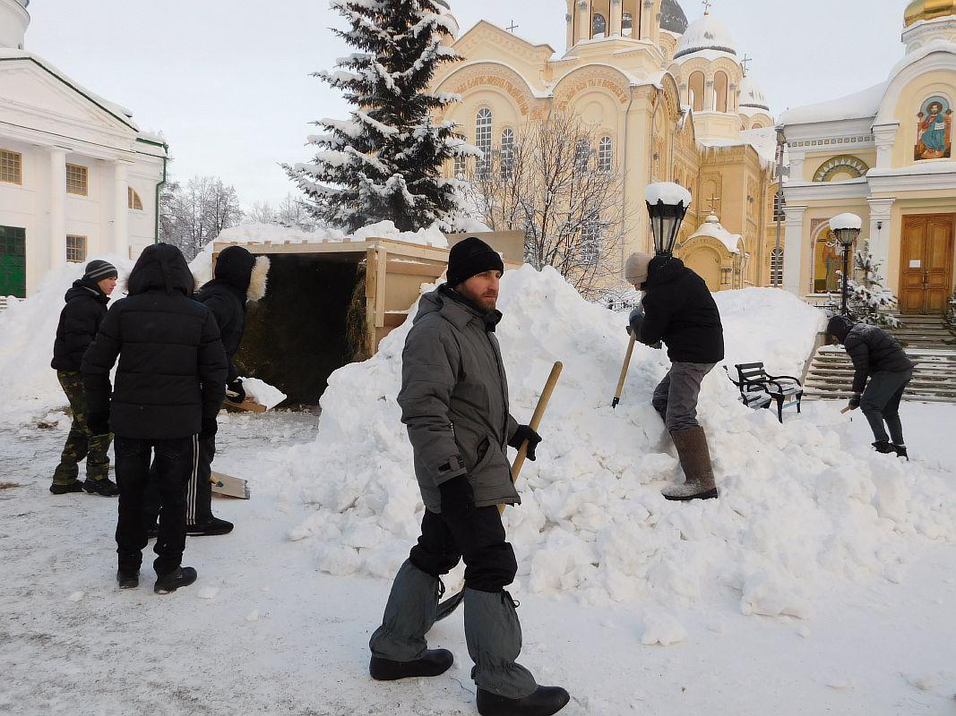 Вертеп рождественский своими руками на улице 97